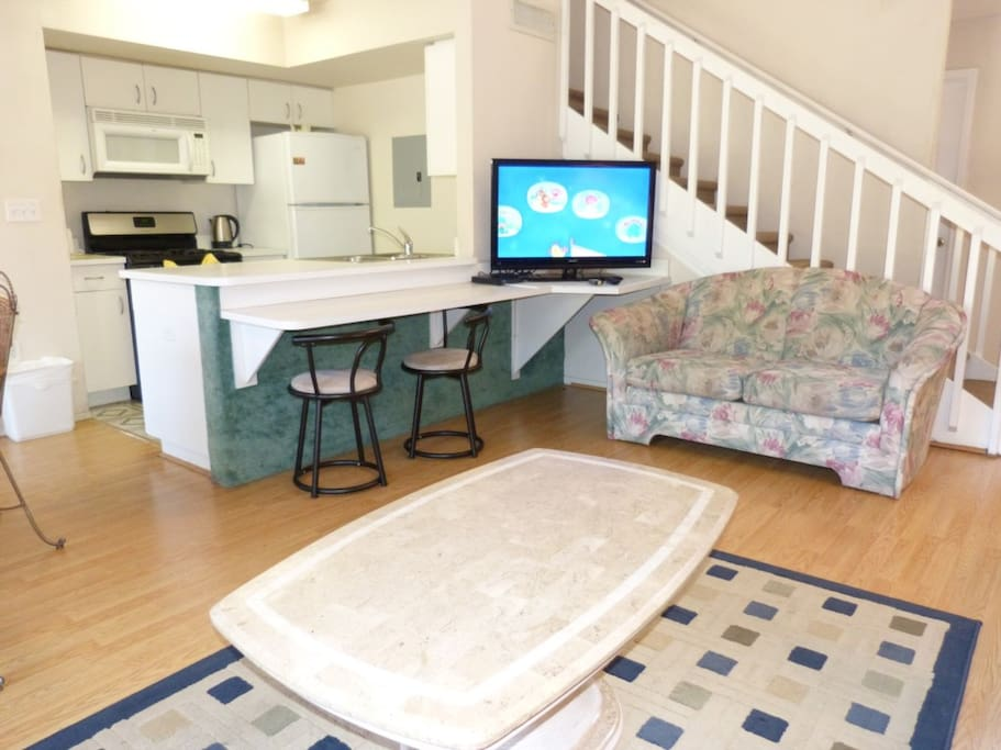 Dining Table, Furniture, Table, Couch, Oven