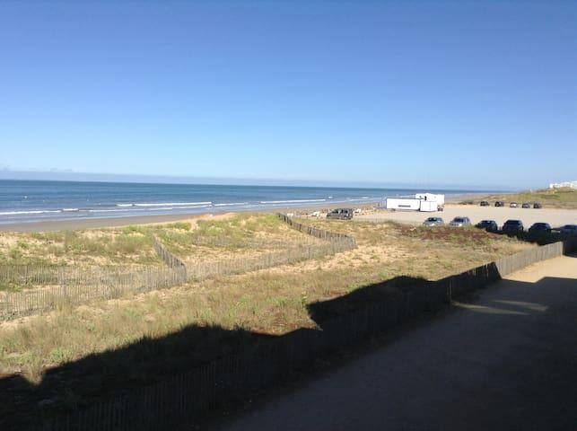 Appartement T3 vue mer accès direct à la plage - Saint-Hilaire-de-Riez - Apto. en complejo residencial