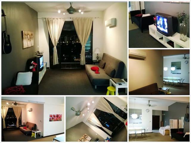 Spacious KL Apartment - Kuala Lumpur - Apartment