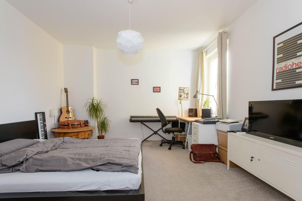 sch nes zimmer an der au enalster apartments for rent in hamburg hamburg germany. Black Bedroom Furniture Sets. Home Design Ideas