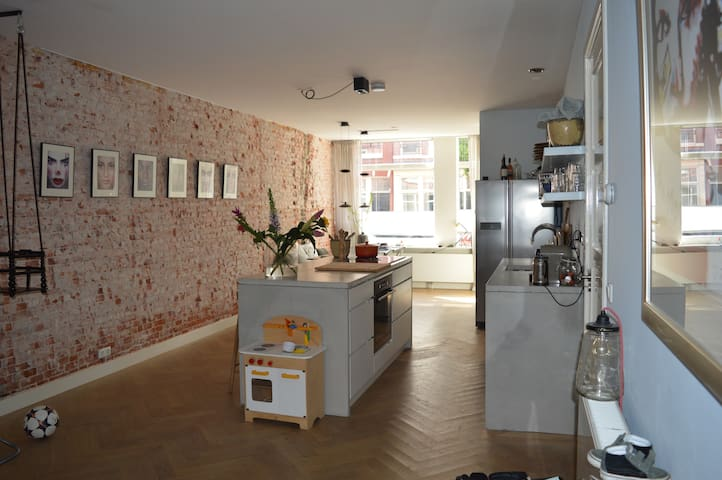 Large apartment with garden in Amsterdam Jordan