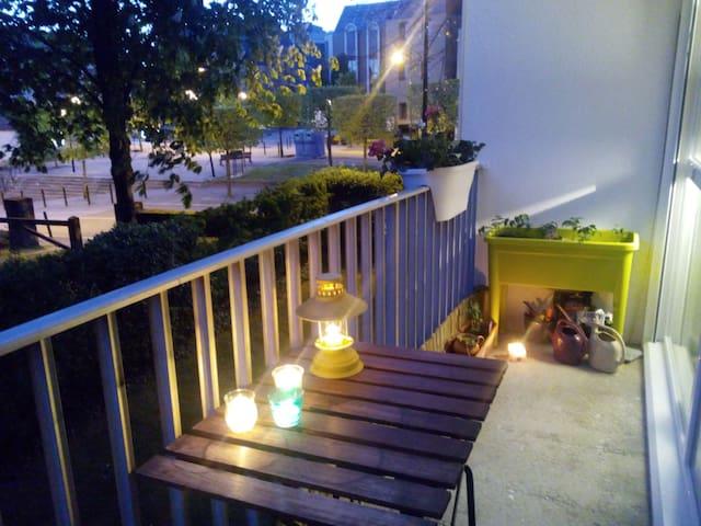 T2 bourg saint herblain avec parking et balcon - Saint-Herblain - อพาร์ทเมนท์