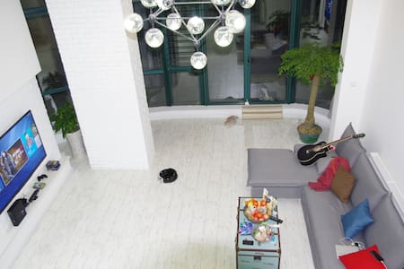 New decorated loft with privat yard - Nanjing - Loft
