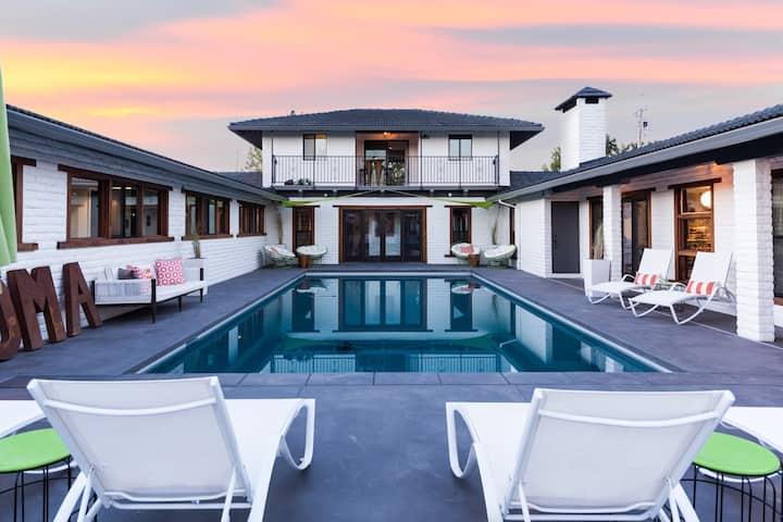 The Wolf & Horseshoe: 4BR Sonoma Estate,bocce&pool
