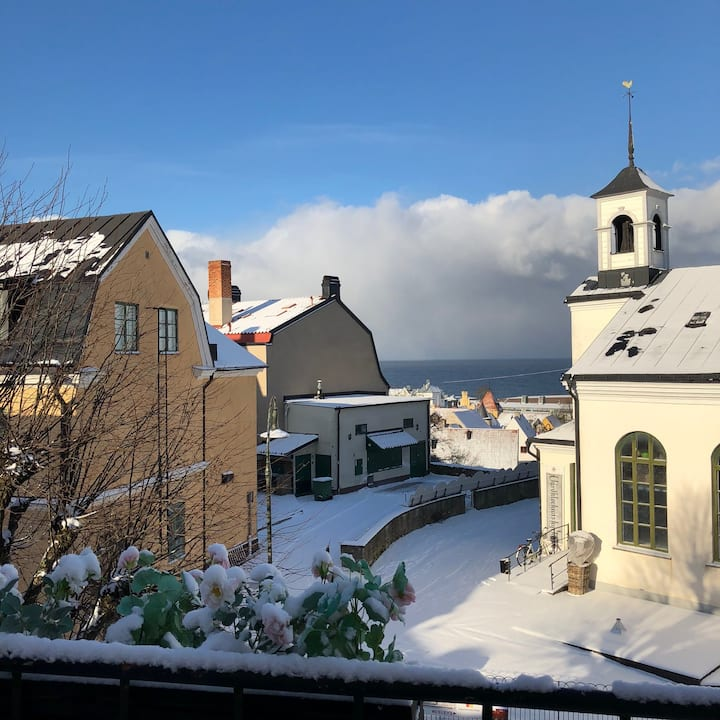 CHRISTMAS or NEW YEARS EVE in VISBY INNER TOWN!