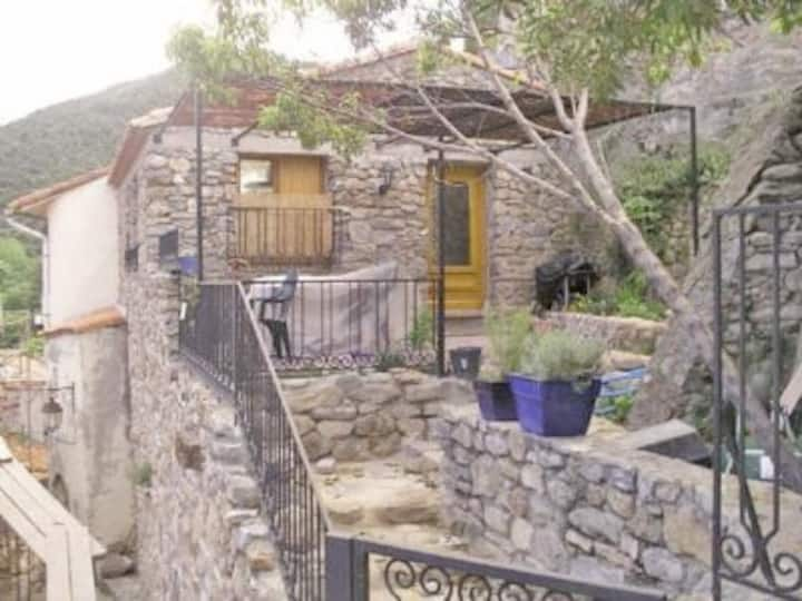 Medieval Stone House in Pyrenees