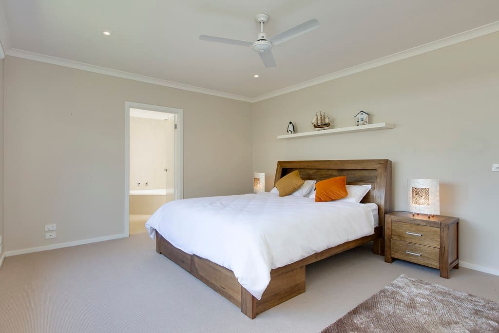 Enormous King Size Master Bedroom, boasting Ensuite and huge wardrobe space.