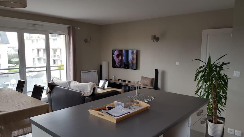 Appartement, 63m2 Cosy, Chaleureux - Caen - Lägenhet