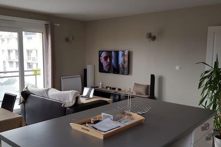 Appartement, 63m2 Cosy, Chaleureux - カーン