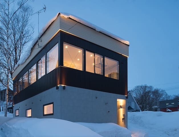 3BDR Snow Monkey House Niseko - Niseko, Abuta District - กระท่อมบนภูเขา