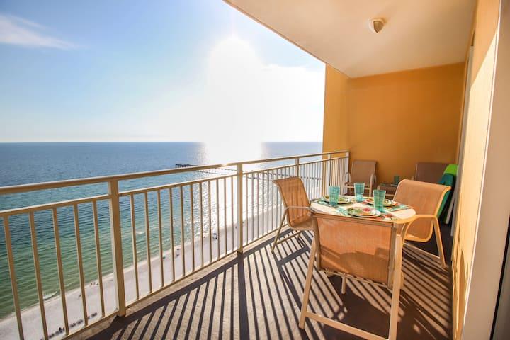 Beautiful Panama City Beach Getaway  on the Ocean