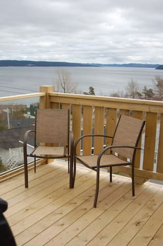Each suite has private deck/BBQ and ocean view!