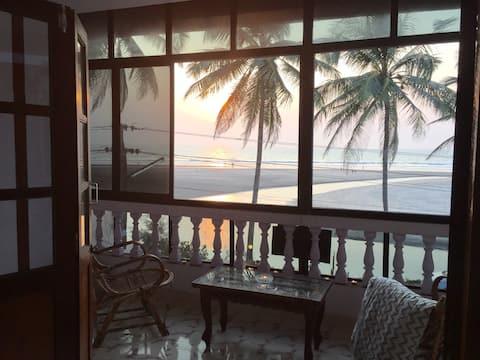 Ashvem beach,  Goa.