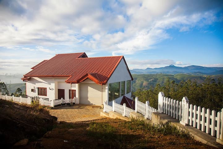 Amazing view on misty mountain   - Hatton - Rumah