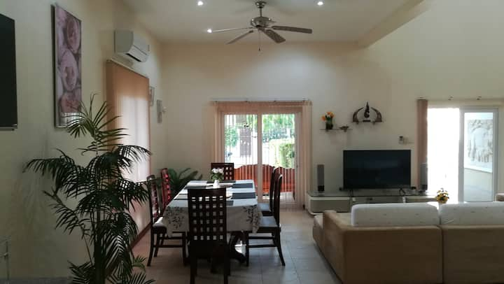 Orchid home 1 -hua-hin soi 102 with private pool