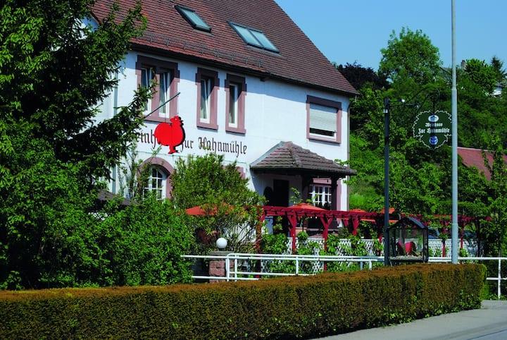 Bensheim | Ferienwohnung Hahnmühle | 2-4 Personen