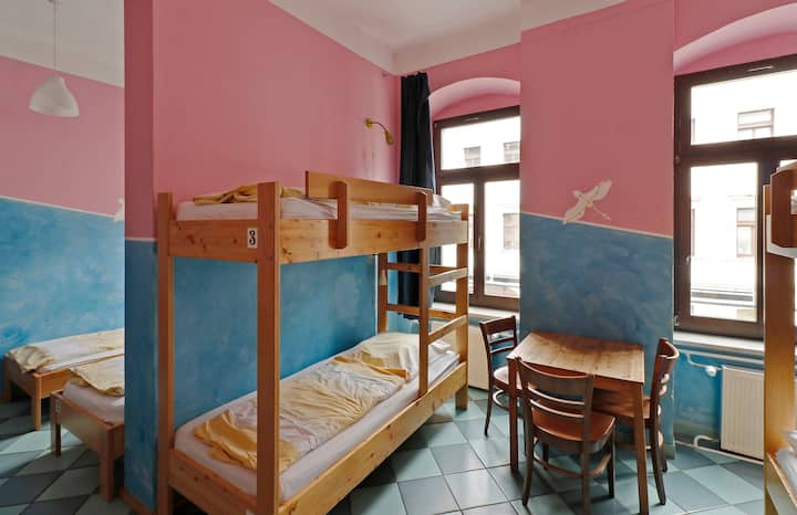 bed in 8-bed dorm (mixed) at Hostel Mondpalast