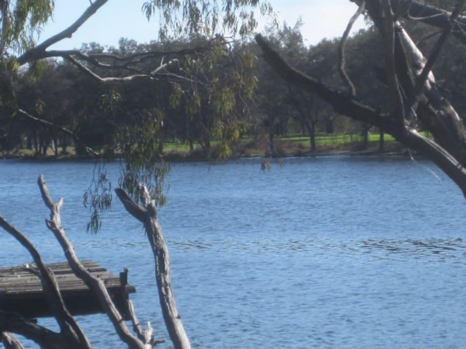 Beautiful river walks close by