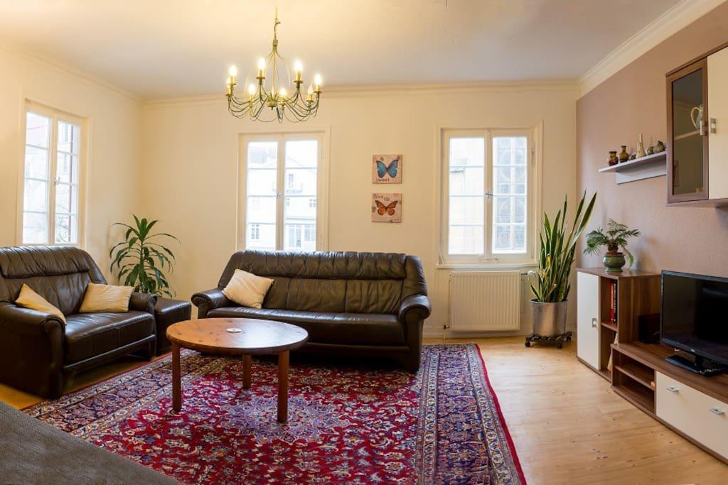Groszügiges, gemütliches Wohnzimmer