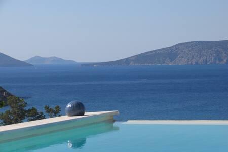 View on the greek sea - Ermioni - Haus