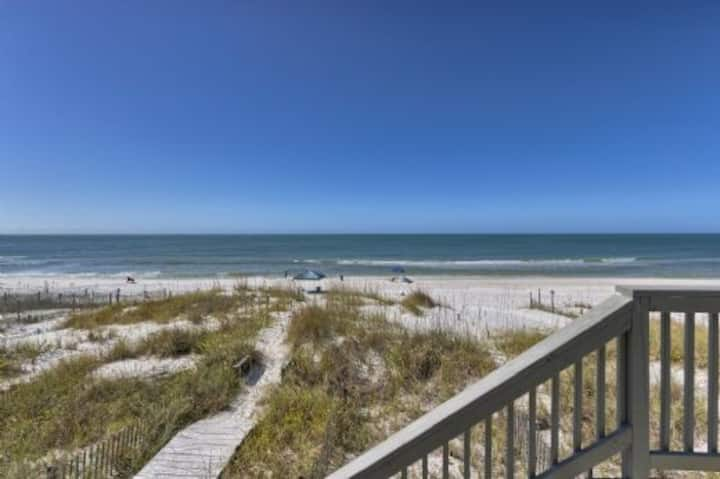 North Cape San Blas, Beach Front, Triplex ~ Absolute Heaven