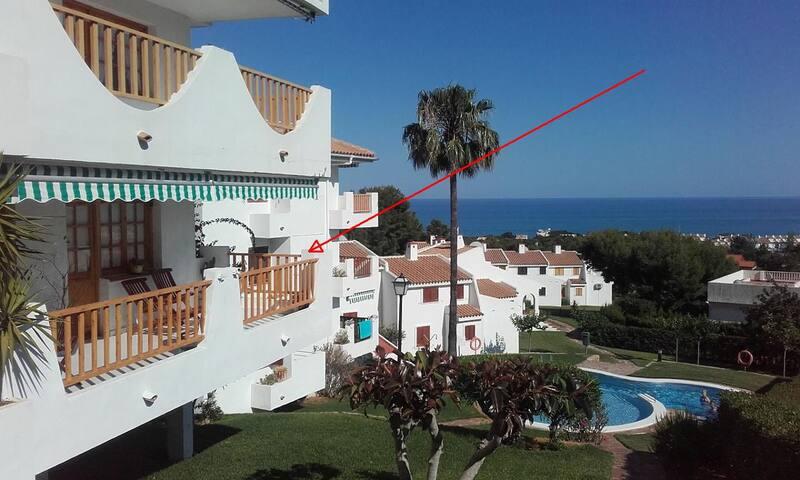 Apartamento Las Haciendas con magníficas vistas