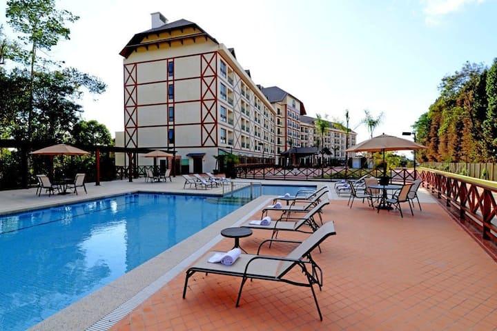 Ap em Hotel - PEDRA AZUL - fabuloso