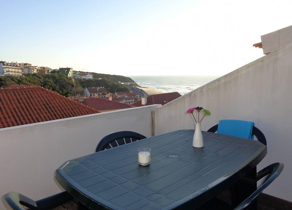 Entardecer no Terraço | End of afternoon on the terrace