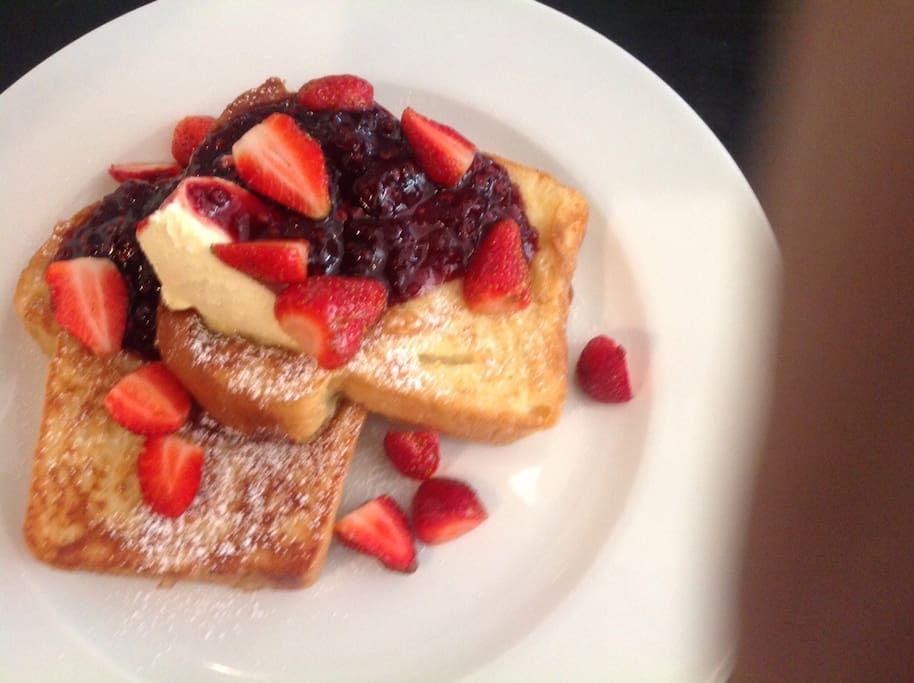 The best french toast in town