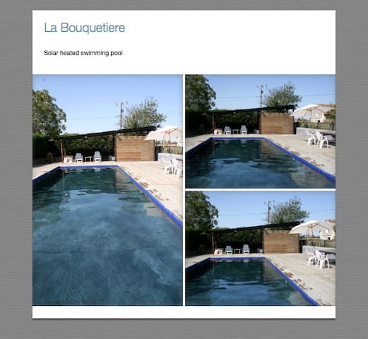 Loire valley stables with  big Pool - Villeloin-Coulangé - Apartemen