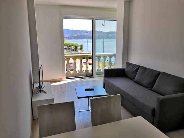 Apartamento Nº 2 Dabarca Combarro vista mar