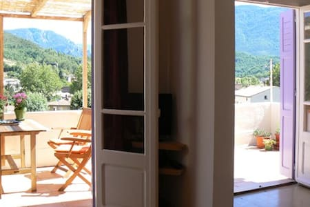 Apartment & Terrace, Great Views  - Quillan - Pis