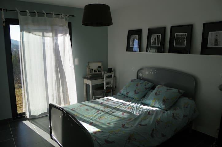 chambre de charme avec douche - Mollans-sur-Ouvèze