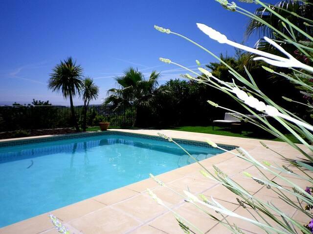 Maison 8 personnes piscine vue mer - Ollioules - Maison