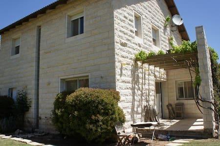 Private home- Tsur Hadassah Israel - Tzur Hadassah - Dům