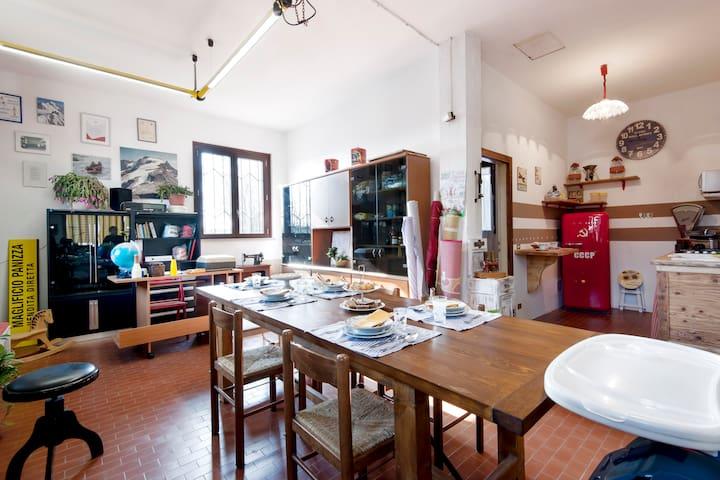 Knitwear factory vintage - Cattanea-casoni dei Peri