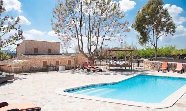 SON SELLES - Villa with private pool in Sencelles.