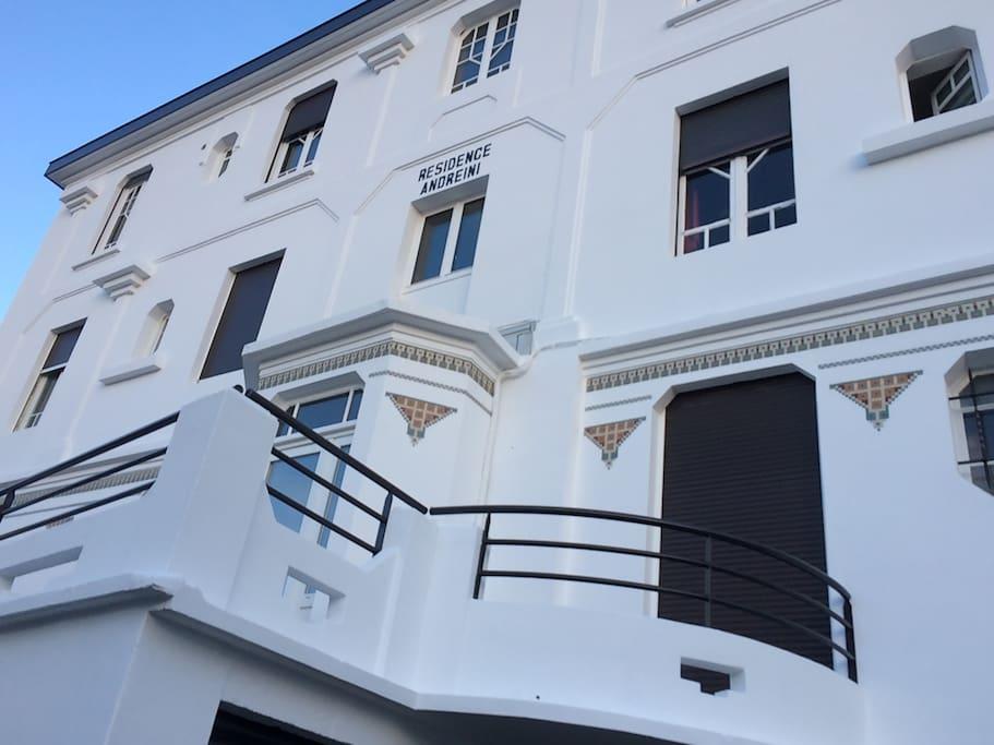 résidence art-déco construite en 1926