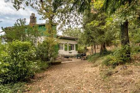 Villa with a park, jacuzzi pool near Montecatini - Goraiolo - 独立屋