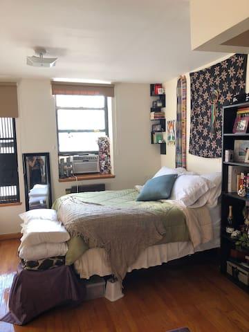 Cozy NYC Studio (in Upper Manhattan / East Harlem)