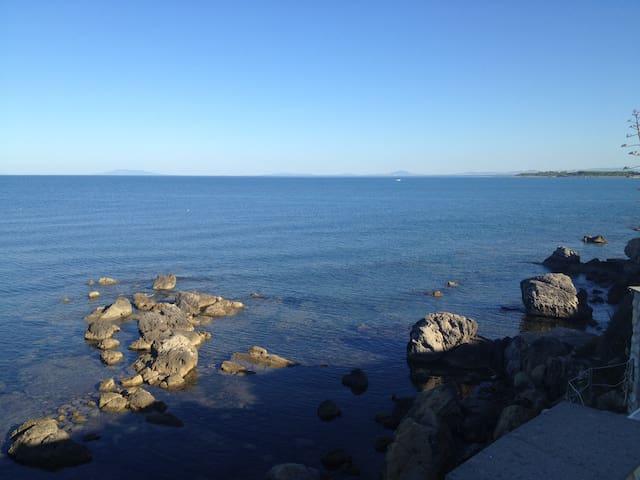 villa sul mare vicino roma - Tarquinia - Villa