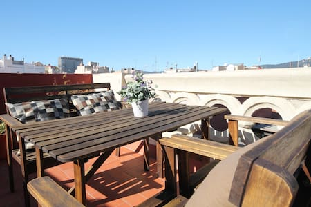 Great&cosy penthouse-Privat terrace - Barcelona