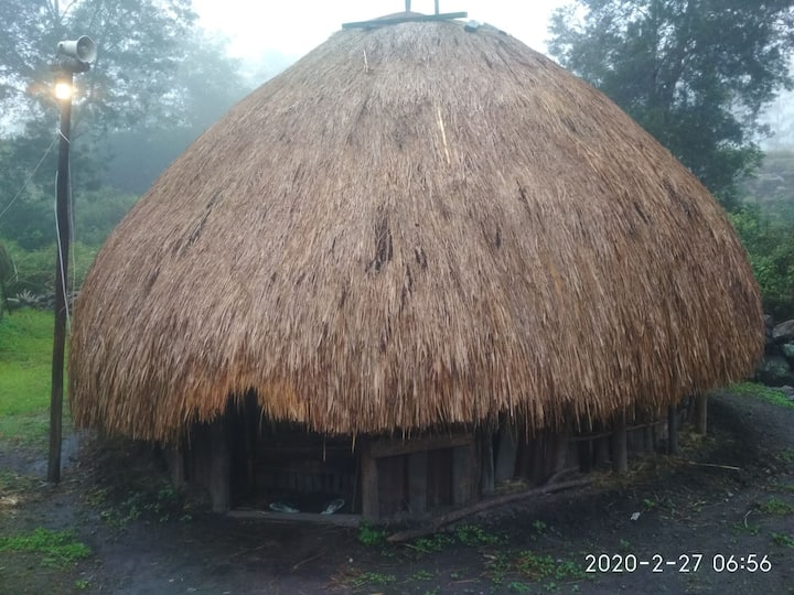 Wamena traditional house