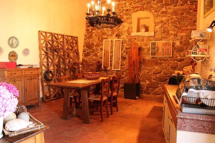 Montemerano - Il giardino del borgo - Montemerano - Apartament