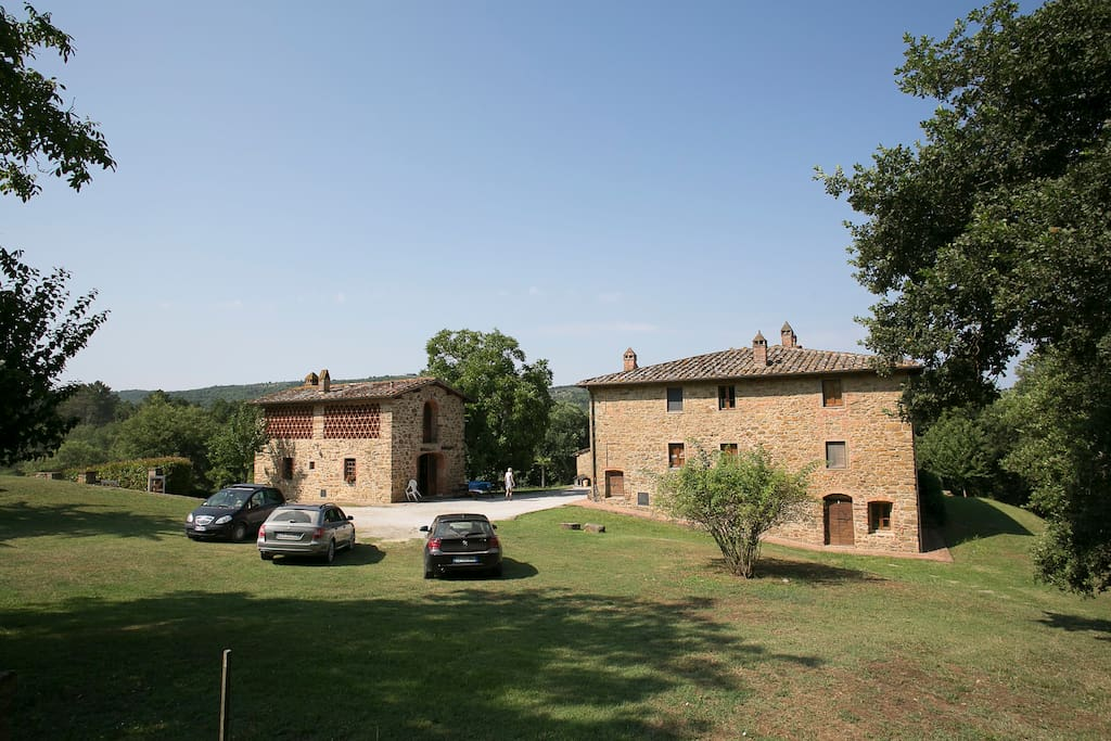 A typical Tuscan Farmhouse dating back to the 15th Century.