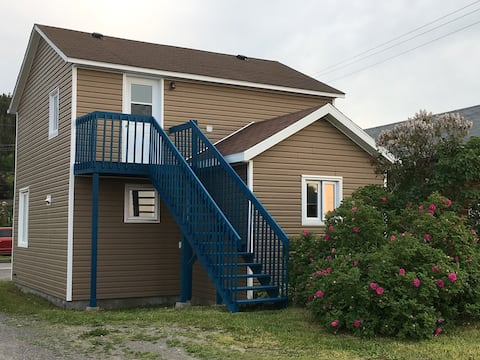 Gaspé apartment by the sea!