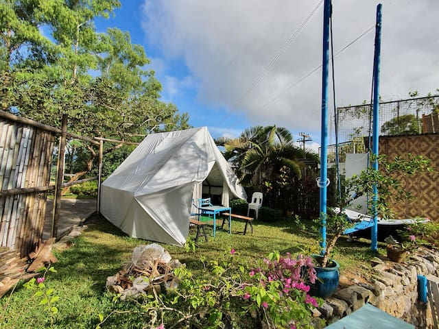 Cabanas 2 Tent Butlered Glampsite CityView at Tops