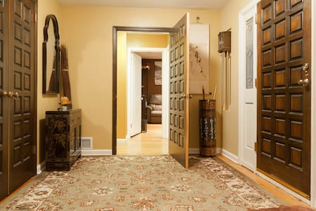 Lovely private room w/attached bath - Closter - Casa