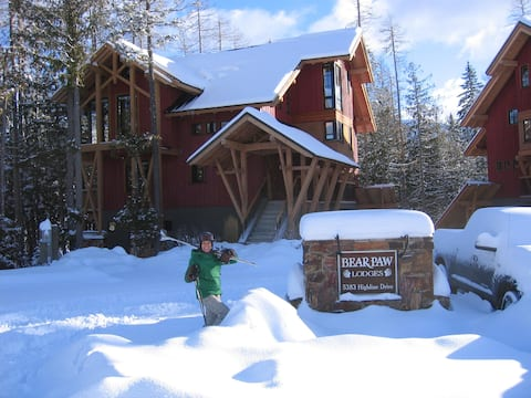 Fernie ski-hill suite.