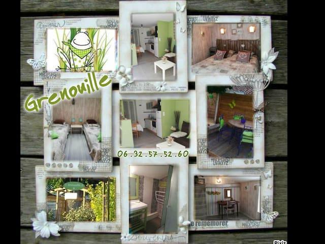 Maison de vacances avec jardin clos